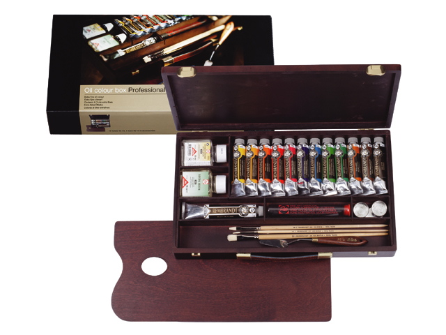 Olejové barvy Rembrandt Box Professional Olejové barvy Rembrandt Box Professional