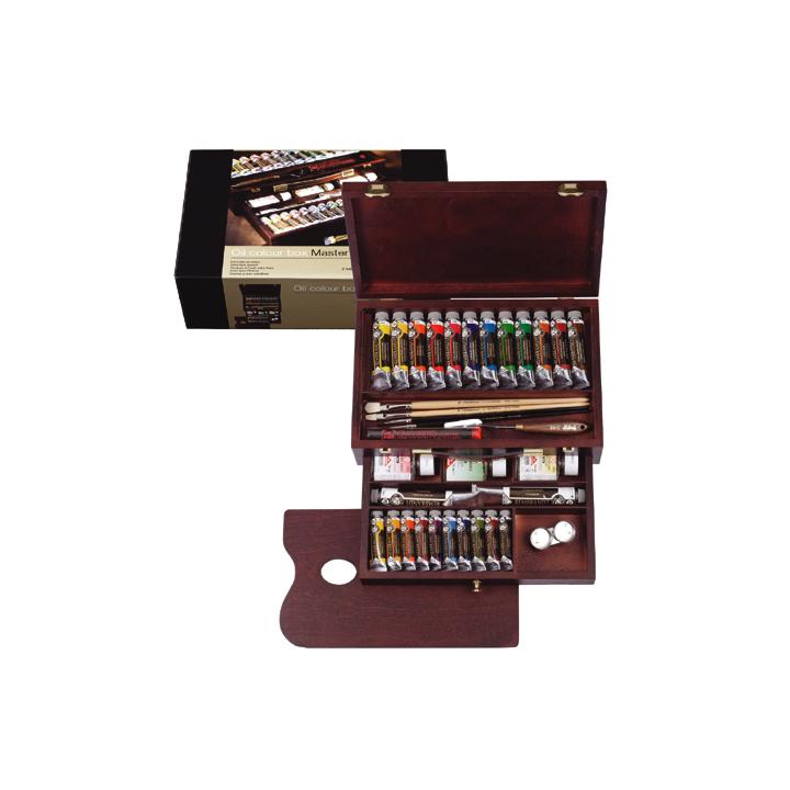 Olejové barvy Rembrandt Box Master Olejové barvy Rembrandt Box Master