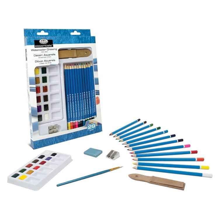 Akvarelový set Royal & Langnickel Essentials / 29 dílný