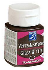 Barva na sklo a keramiku GLASS&TYLE 50ml - transparent - Lemon Yellow transparentní barvy na sklo, keramiku a porcelán