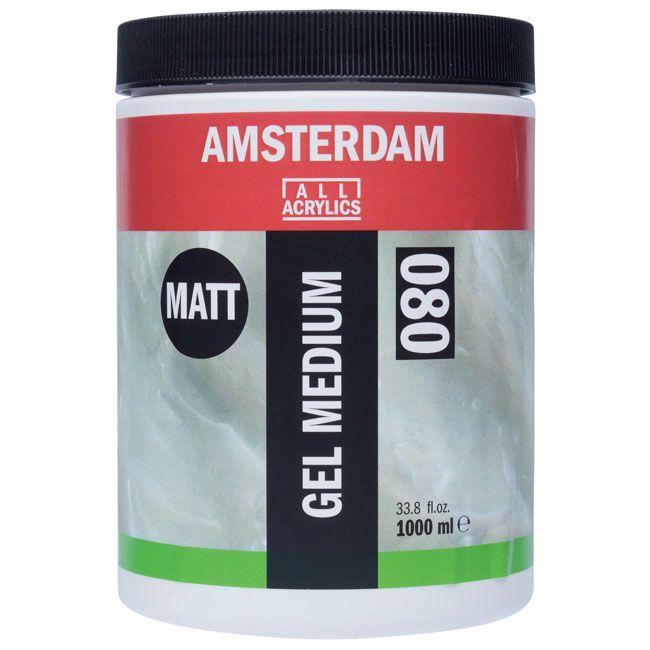 Matné médium gel AMSTERDAM 1000ml umělecké potřeby Royal Talens