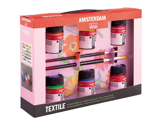 Image of Barvy na textil Decorfin Textile SET