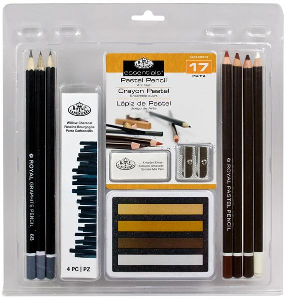 17 dílna sada  Pastel Pencil ART Set