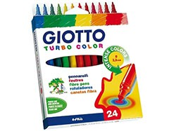 Markery GIOTTO TURBO COLOR / 24 barev