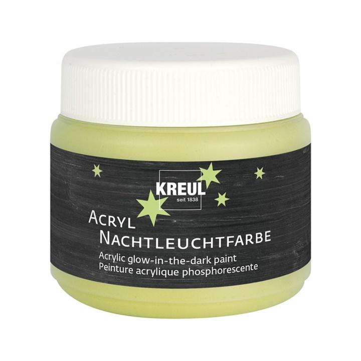 Akrylová barva KREUL svítící ve tmě 150 ml (hobby akrylové barvy)