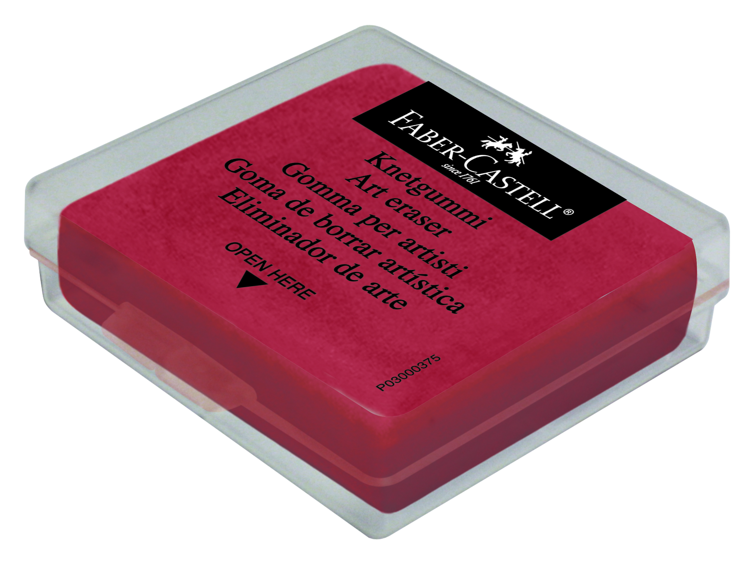 Guma plastická barevná v krabičce Faber Castel - guma plastická