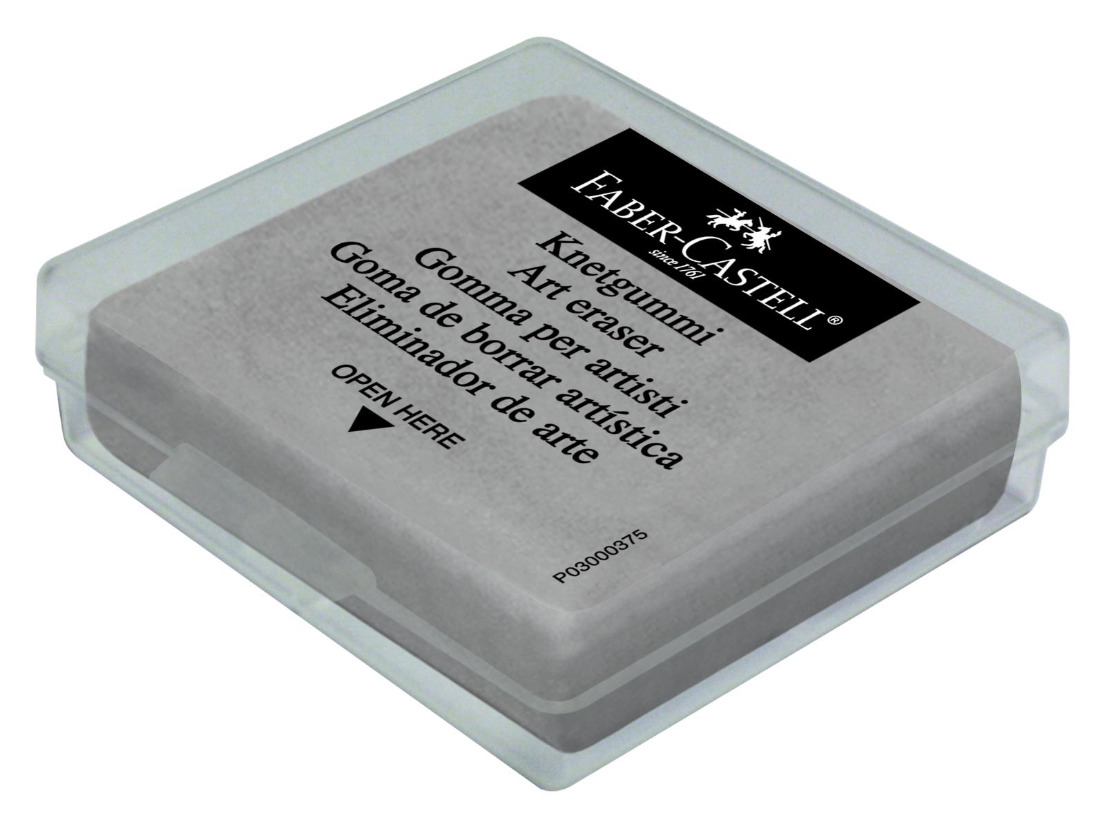 guma plastická šedá v krabičce Faber Castel - guma plastická