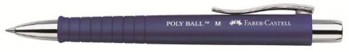 Kuličkové pero Poly Ball modrá Faber Castell - Kuličkové pero Faber Castell - Kuličkové pero