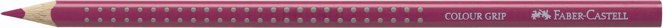 Pastelka Color Grip / 125 purpurově růžová Faber Castell - Akvarelové pastelky Faber Castell - Akvarelové pastelky