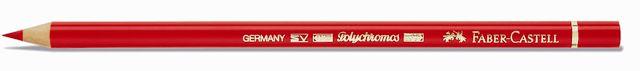 Pastelka Polychromos / 223 sytá červená Faber Castell - Pastelky Polychromos Faber Castell - Pastelky Polychromos