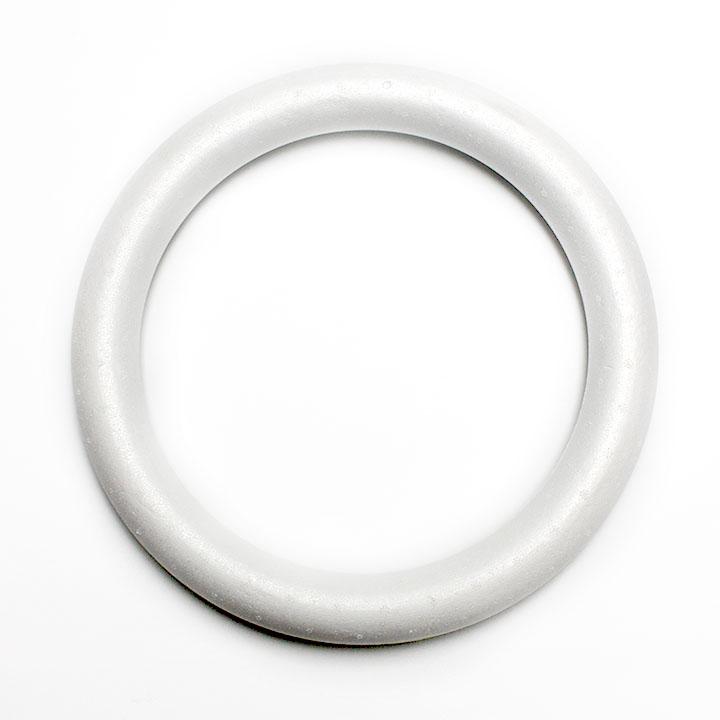 Polystyrénový věnec 30 cm polotovary z polystyrenu