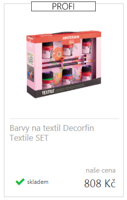 Barva Na Textil 25 Ml Jiz Od 29 Kc Malirske Platno Cz